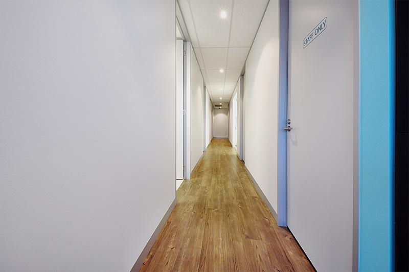 United Smiles | Dental Rooms Hallway - Dentist Mernda