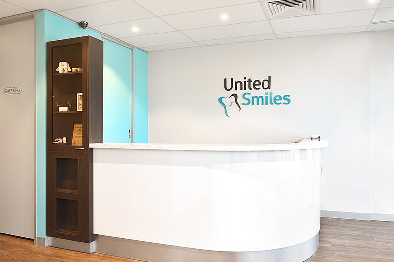 United Smiles | Reception Table - Dentist Mernda